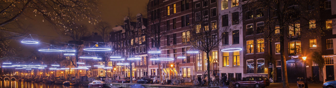 Amsterdam Light Festival; enjoy it the Upclass way